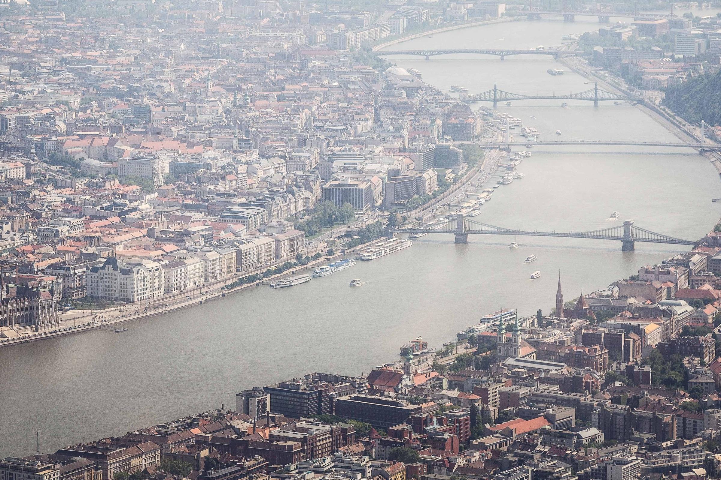 Полёт над Будапештом