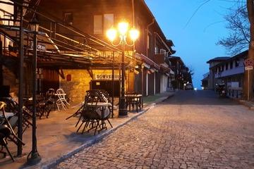 Вечерняя панорама города Несебр