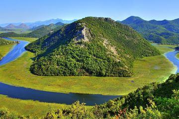 Река Црноевича и Скадарское озеро (утренняя)