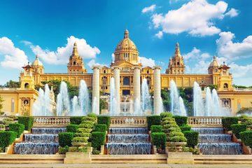 Панорамная Барселона