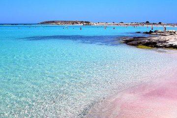 Элафониси - розовые пески
