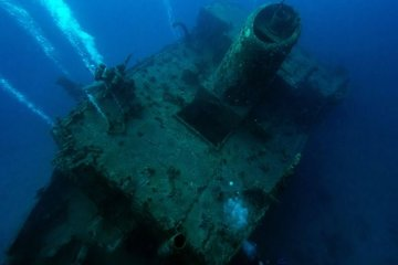 Дайвинг на затонувшие корабли