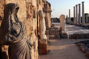 Фамагуста и Саламин - берега истории