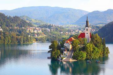 Любляна и озеро Блед
