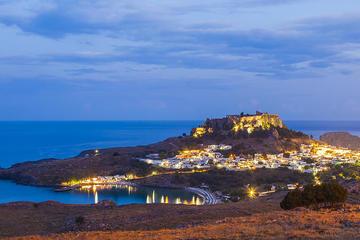 Тайны вечернего Линдоса с посещением Акрополя