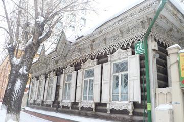 Деревянное кружево Новосибирска