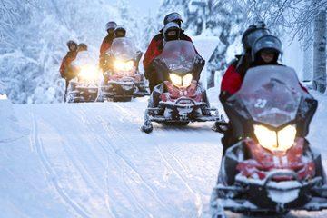 Сафари на снегоходах 2 часа