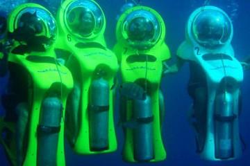 Подводный мотоцикл на Тенерифе