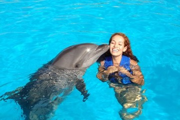 Плавание с дельфинами в Мексике