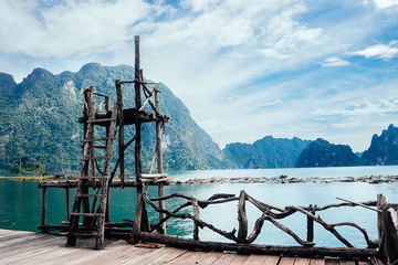 Као Сок и озеро Чео Лан