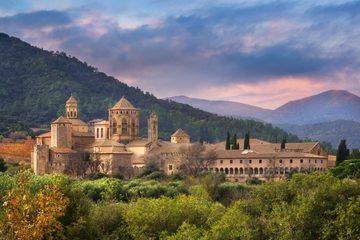 Ужин в музее «Испанская деревня» и Волшебный Фонтан