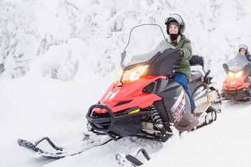 Сафари на снегоходах на собаководческую ферму