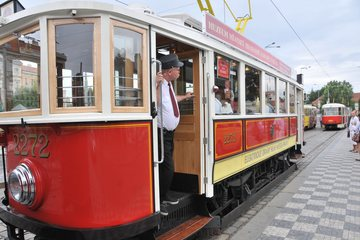 Прага на историческом трамвайчике