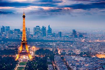 Вечерний Париж