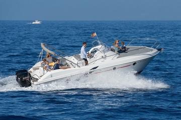 Морская прогулка на моторной яхте BLUE JACK POWER
