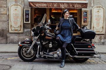 Мотопрогулки по Барселоне