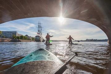 SUP-серфинг в питере