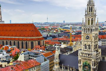 Мюнхен из Вены
