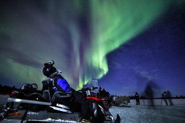 Ночное сафари на снегоходах 3 часа