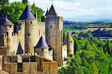 Каркассон и дегустация устриц (Франция)