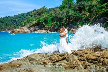 Свадебная церемония на островах Пхукета