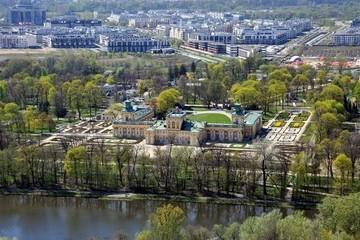 Королевские Лазенки и дворец в Виланове