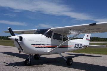 Полет на самолете или вертолете над островом