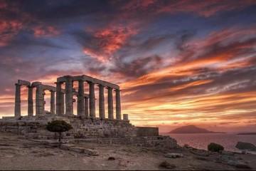 Храм могущественного бога воды Посейдона, мыс Сунион