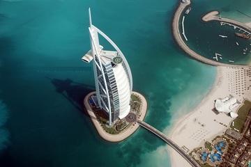 Полет на вертолете в Дубае
