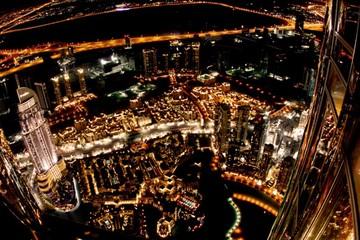 Обзорная экскурсия ночной Дубай с прогулкой на катере