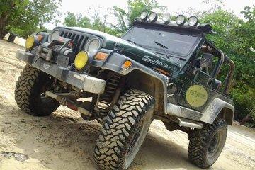 Джип сафари в Доминикане на Jeep Wrangler