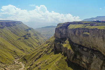 Водопад Тобот и Хунзахское плато