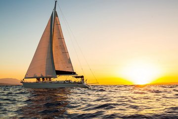 Романтический закат на яхте из Херсониссоса