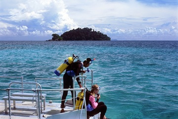 Дайвинг на острове Пайяр